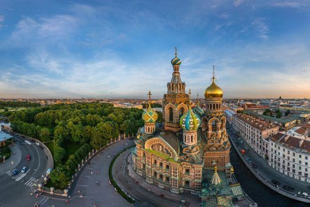 Church of the Savior on Blood, Saint Petersburg, Russia