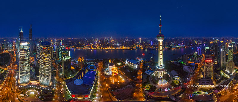 Shanghai, China. The most populous city in the world