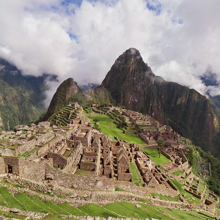 Machu Picchu — the ancient city of the Inca Empire