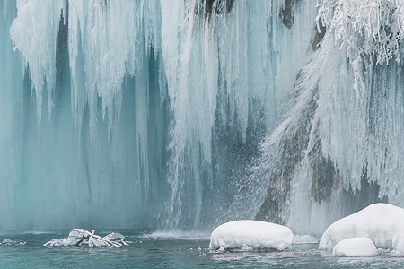 Plitvice Lakes National Park in Winter, Croatia