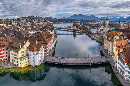 Lucerne, Switzerland. Part I