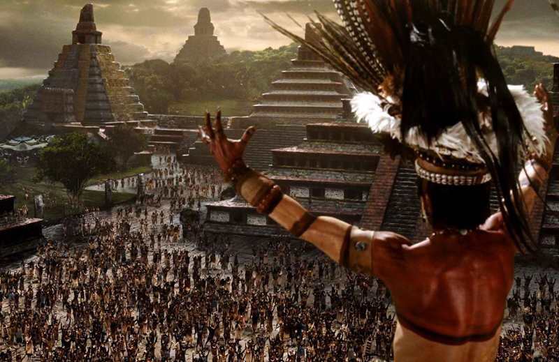 Frame from the movie «Apocalypto»