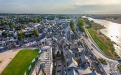 Above the Château d'Amboise